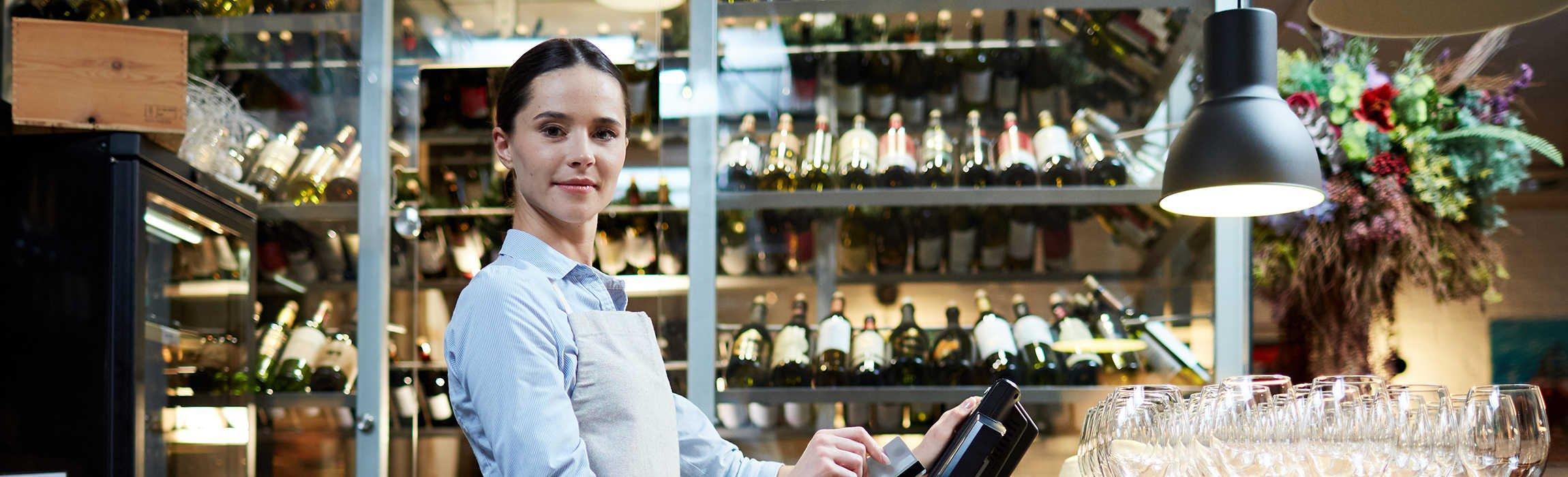 commerçant en vin