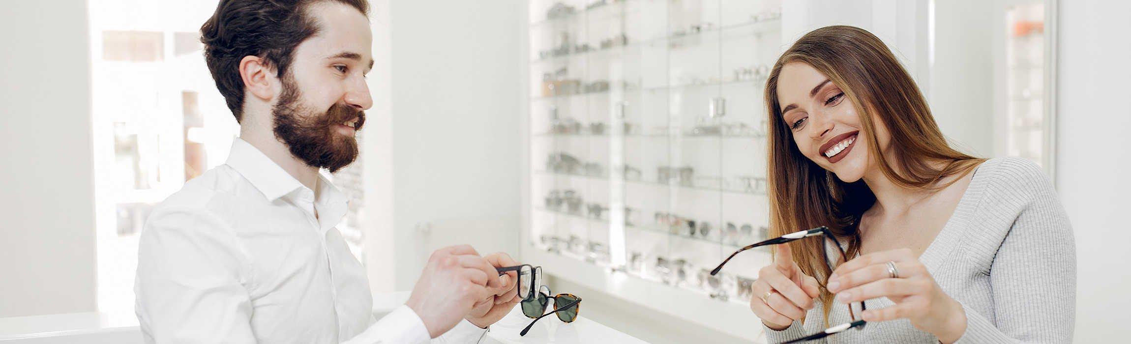 commerçant opticien
